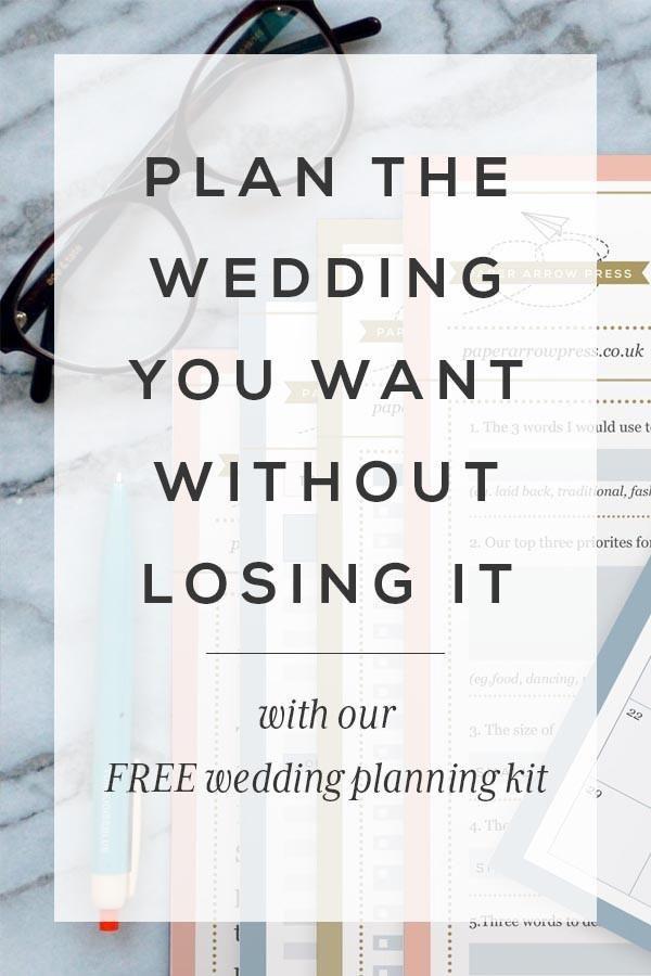 Free Super Stylish Wedding Planning Kit