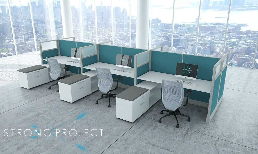 Used Office Furniture Los Angeles Recycled Refurbished Workstations Green Cubicles