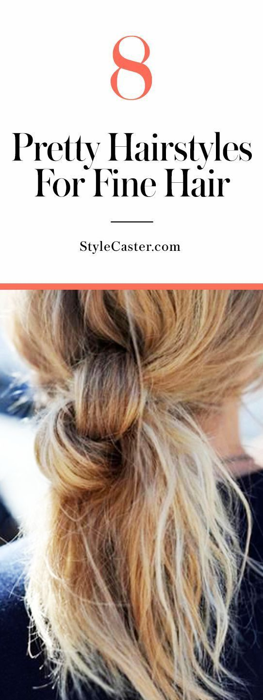 10 Everyday, Foolproof Hacks for Making Fine Hair Look Full and Bouncy -   17 fine hair Tips ideas