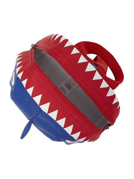 Boys Shark Character Rucksack