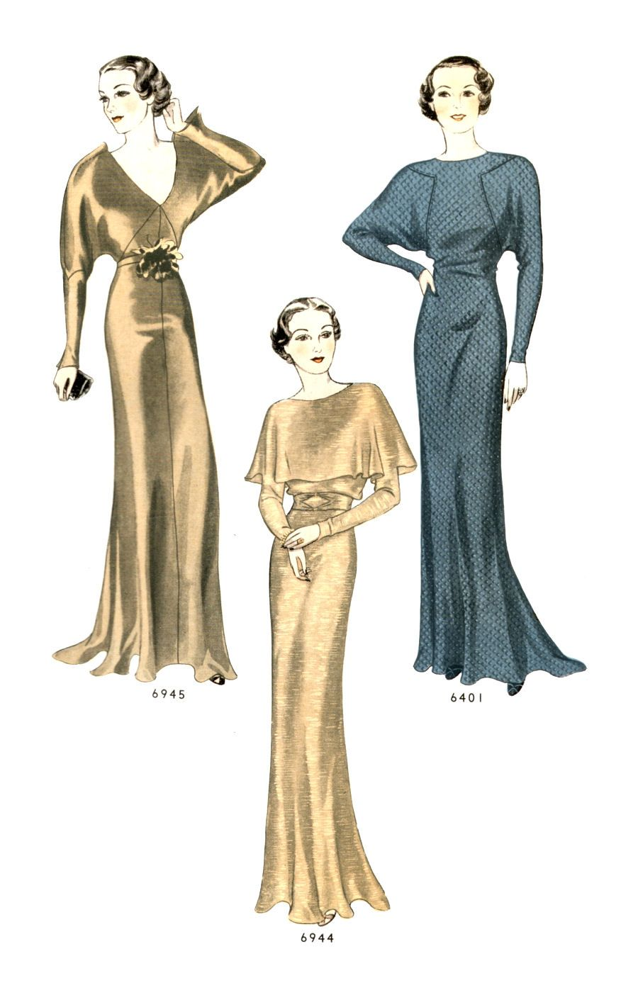 What Did Women Wear In The 1930s 1930s Fashion Guide 1930s Fashion Photos Of Dresses 30s Fashion [ 1397 x 900 Pixel ]