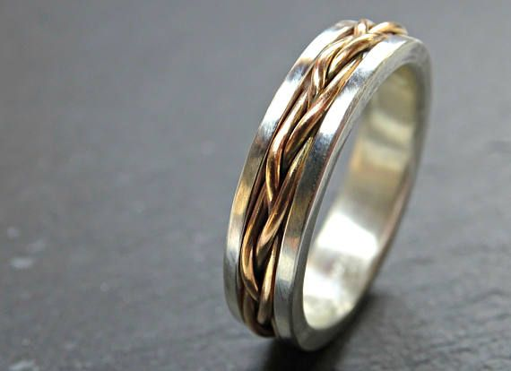 Celtic Wedding Band Men Gold Braided Wedding Ring Viking Etsy Mens Wedding Rings Celtic Wedding Bands Mens Wedding Bands