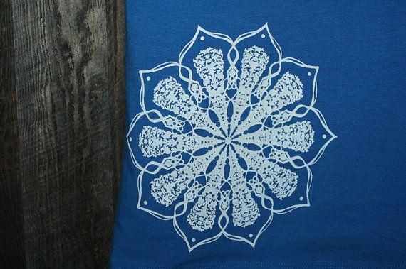 Mandala Screenprinted Dress  Bodycon Chakra by theforgivingtree, $40.00