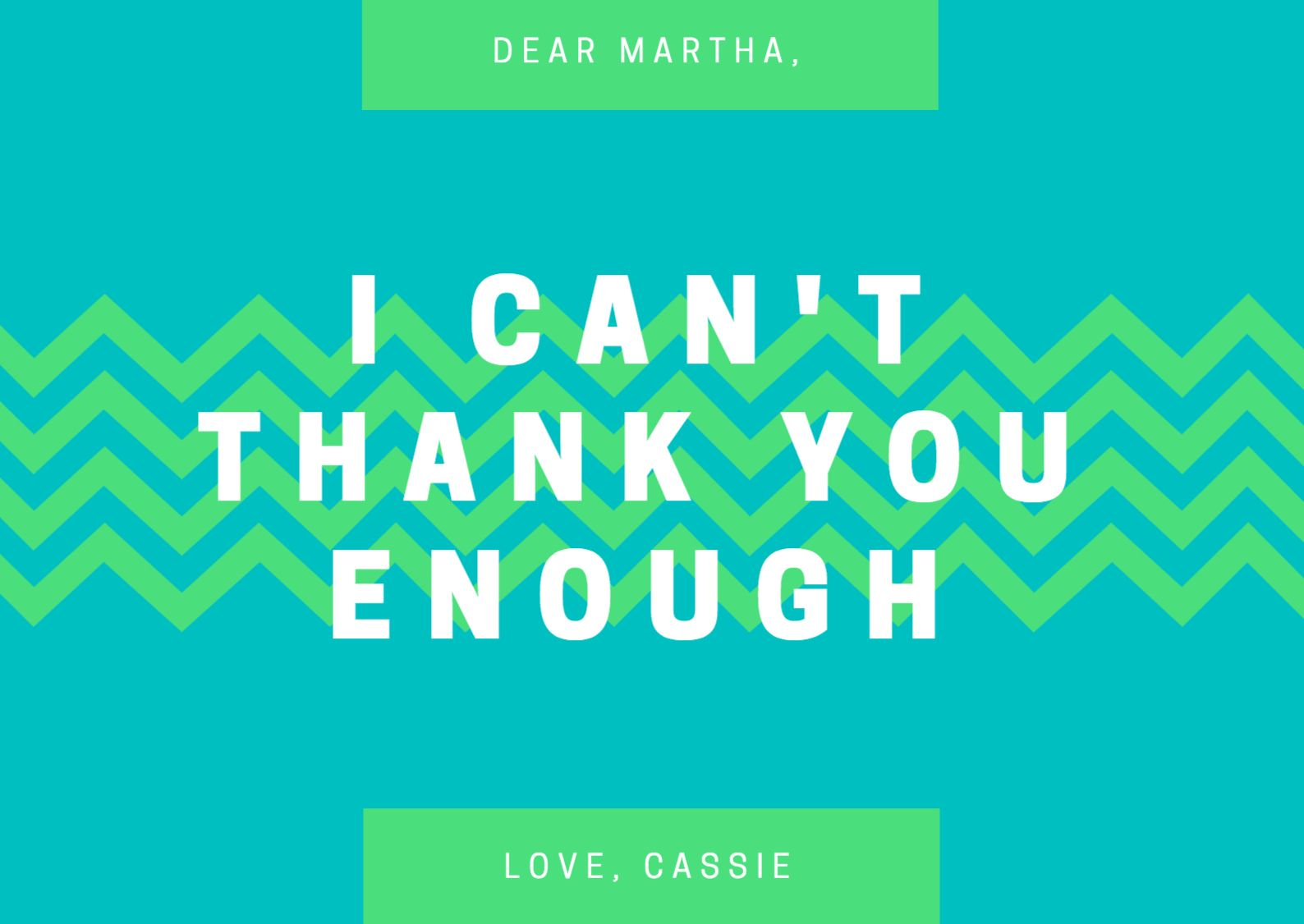 Design A Custom Thank You Card - Canva pertaining to ...