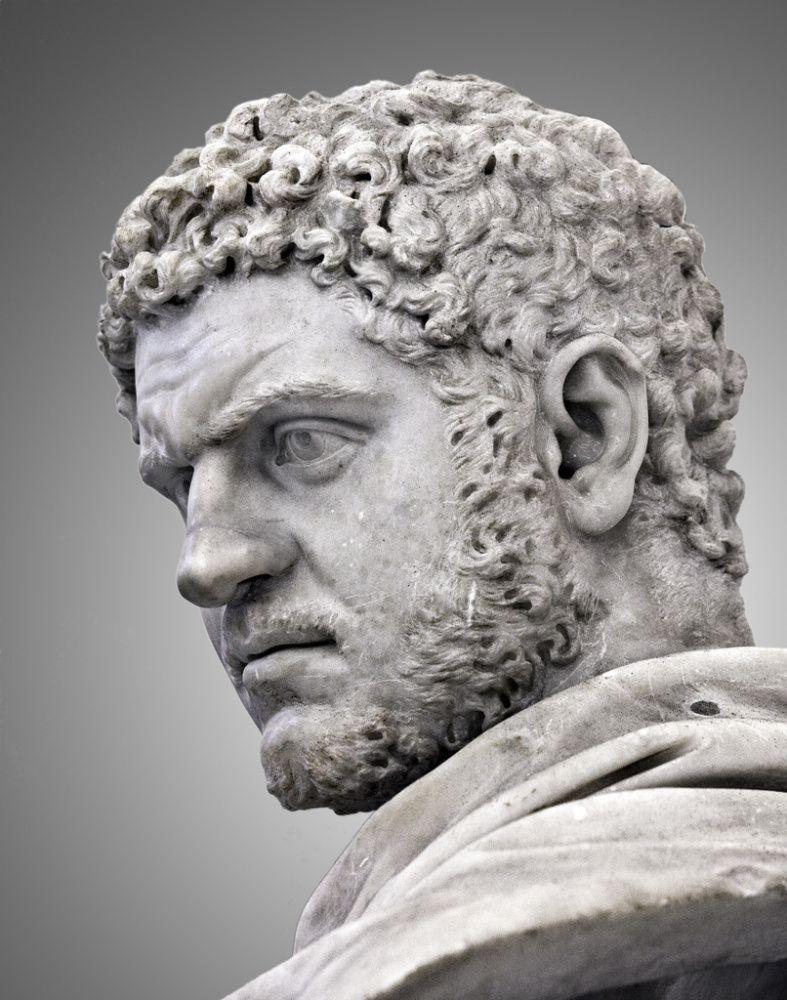 Lucius Septimius Bassianus. Roman emperor 211-217 CE.
