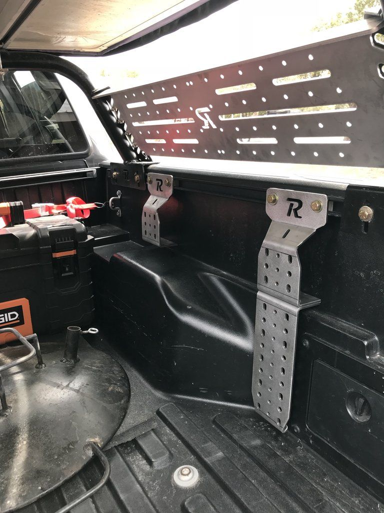 Toyota Bed Rail Modular Accessory Mount Truck Bed Toyota Tacoma Accessories Toyota Tundra Accessories