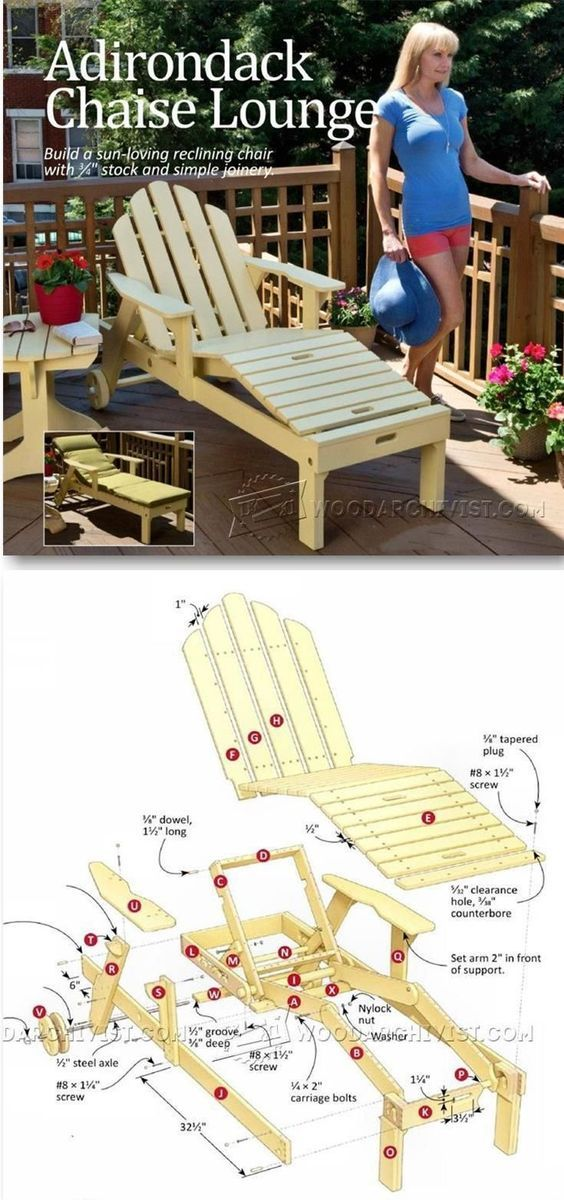 Minimalist Reclining Sun Lounger Plans Outdoor Furniture Plans and Projects Woodwork Woodworking Woodworking Plans Woodworking Projects Luxury - Minimalist woodworking furniture plans Idea