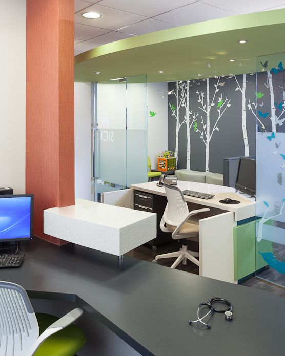 Pediatric office interior design for Office design jargon