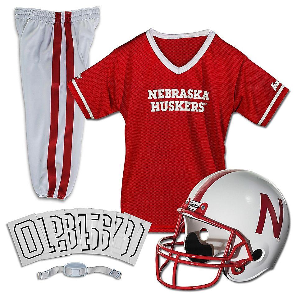 University of Nebraska Size Small Youth Deluxe Uniform Set