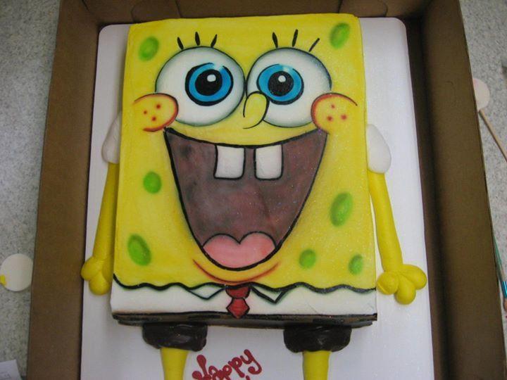 Shaped Spongebob Squarepants Boys Girls Birthday Character Cakes Cartoon Characters Girl