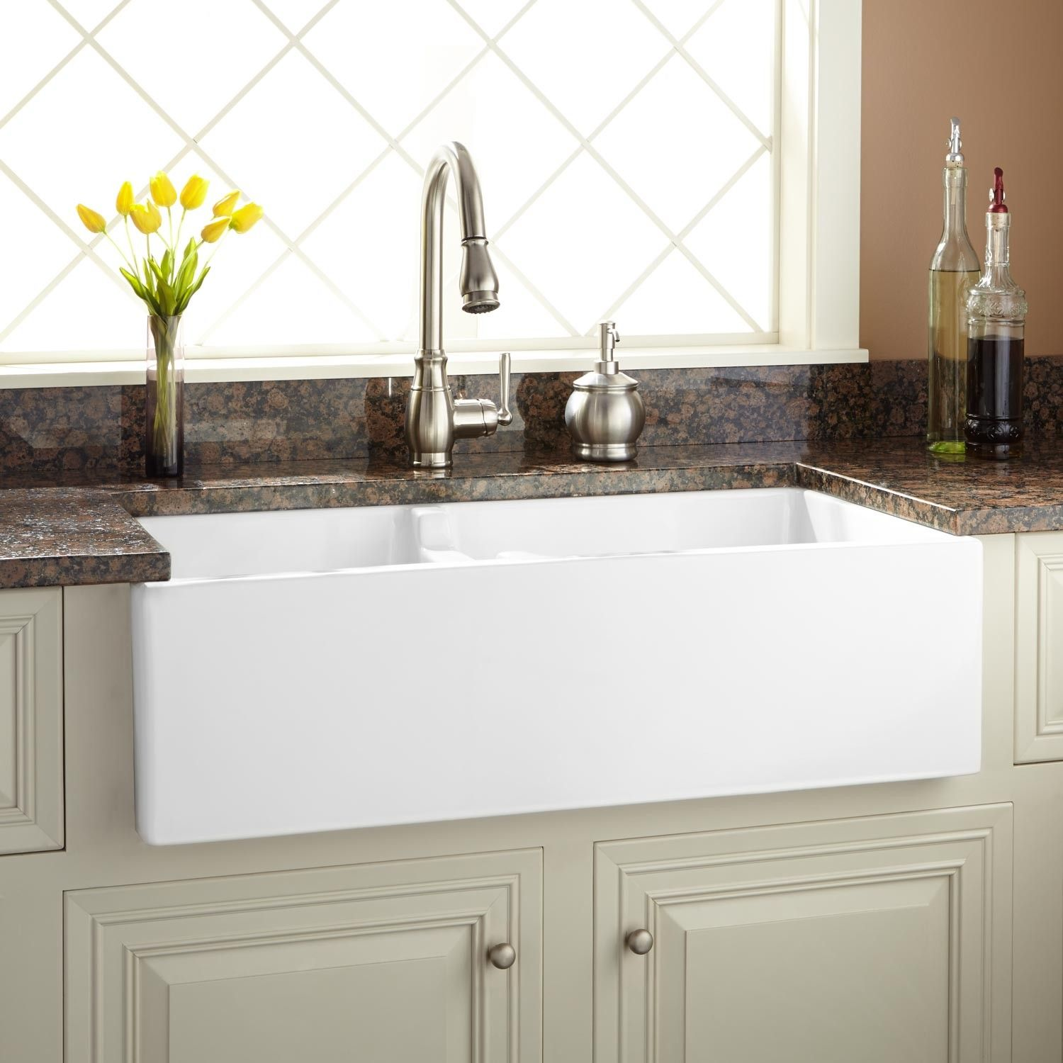 36   risinger 60 40 offset bowl fireclay farmhouse sink   smooth apron   white 36   risinger 60 40 offset bowl fireclay farmhouse sink   smooth      rh   pinterest com