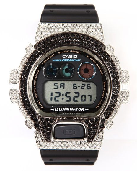 Mens G-Shock by Casio Aviation Swarovski Crystals Watch (UrbanCart.co Exclusive)