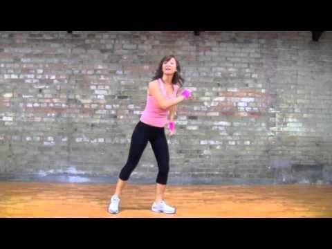 "Zumba Merengue Dance--""Let's Get Loud"" by Jennifer Lopez"