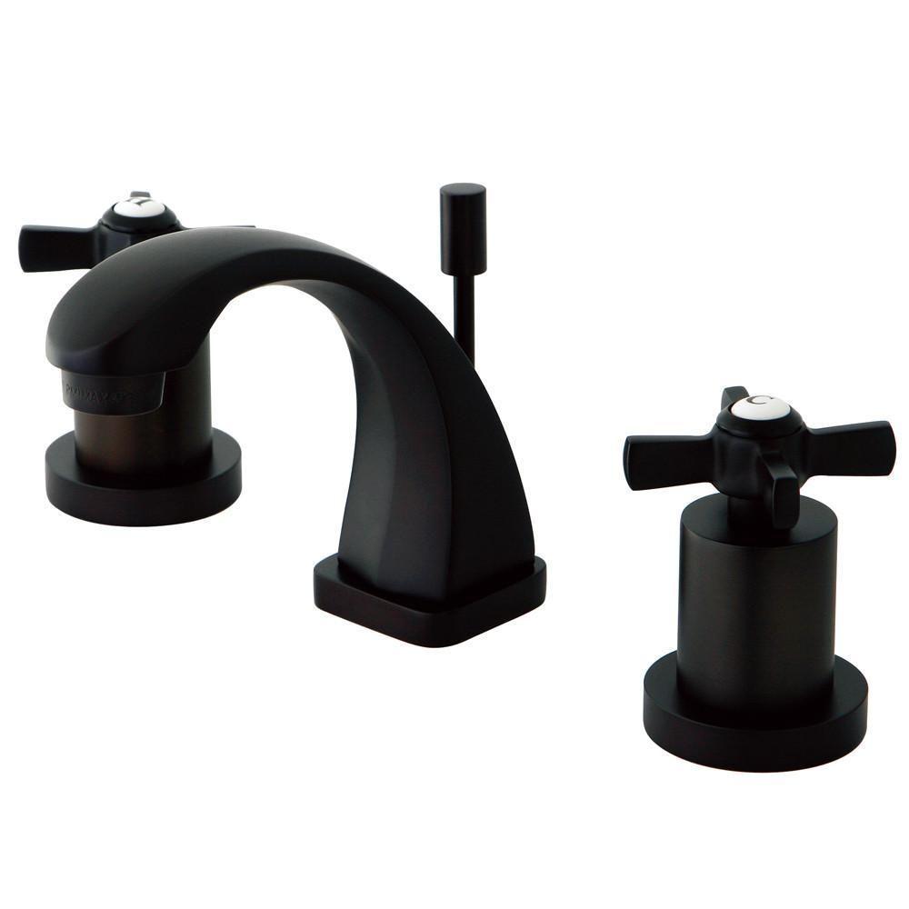 Kingston Brass Ks4945zx Mini Widespread Bathroom Faucet Oil Rubbed
