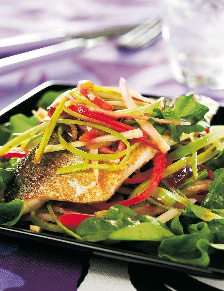 Pariloitu siika ja syyssalaatti | K-Ruoka #kala