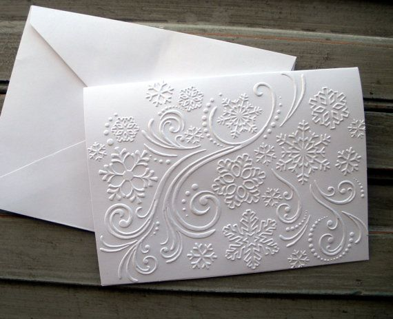 Note Card, Christmas/Holiday Thank You Card, Blank Card, winter note card, thank you, winter wedding thank you card, snowflake, set of 5 on Etsy, $7.70 AUD