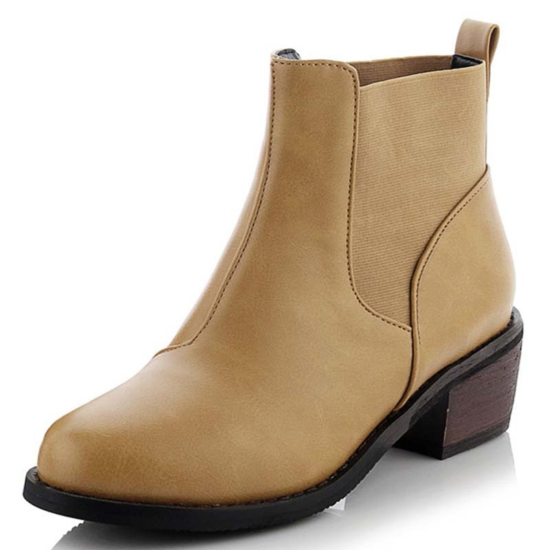 63.14$  Buy now - http://alirsw.worldwells.pw/go.php?t=32467990861 - New Boots Black Motorcycle Women Boots Winter Women Fashion Outdoor Mid High Heels Shoes Ankle Boots for Women Shoes 63.14$