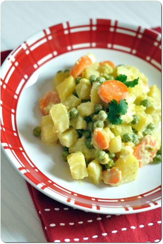 Curry de légumes, ou comment faire manger chou-fleur, carottes et petits pois aux enfants ...