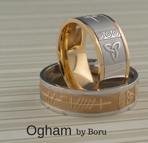 rings mate soulmate men pin mm ogham wedding in my knot trinity soul ring s