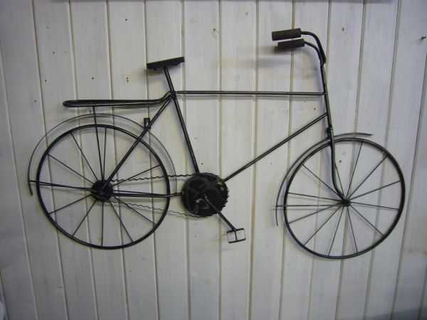 Image result for wire bicycle wall decor | metal wall decor ...