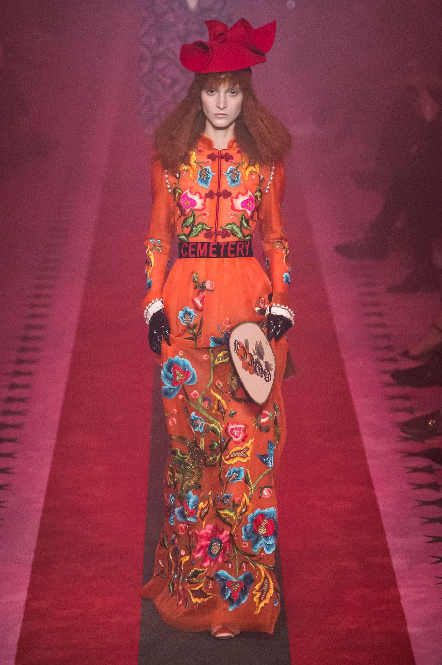 Défilé Gucci Printemps-été 2017 Prêt-à-porter - Madame Figaro