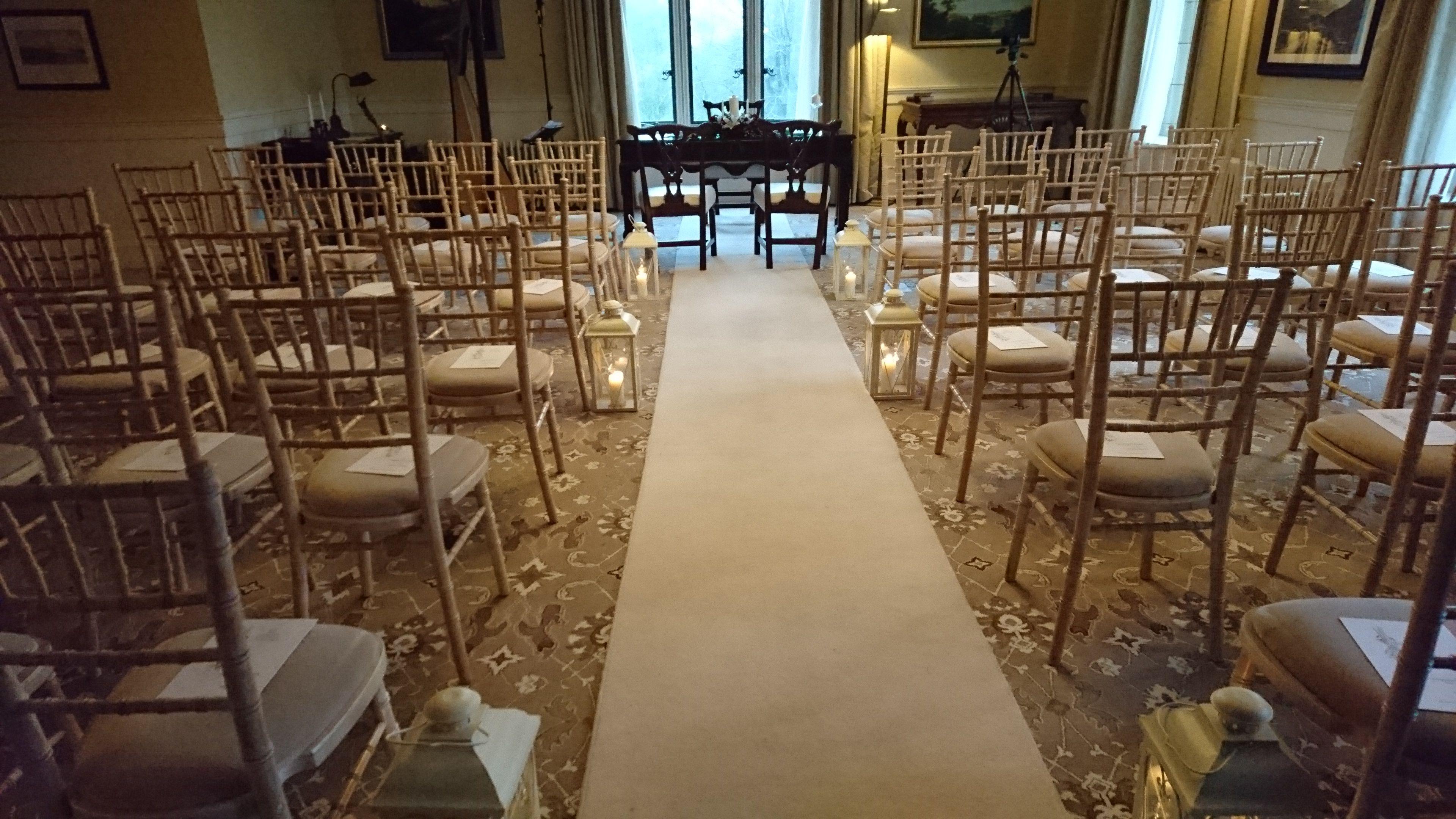 Presidential Suite Solis Lough Eske Castle Civil Ceremony Wedding
