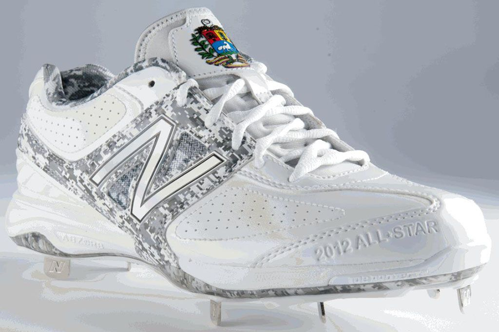 3bb86999a MB4040 2012 MLB All-Star Custom Cleats American League Venezuela (1