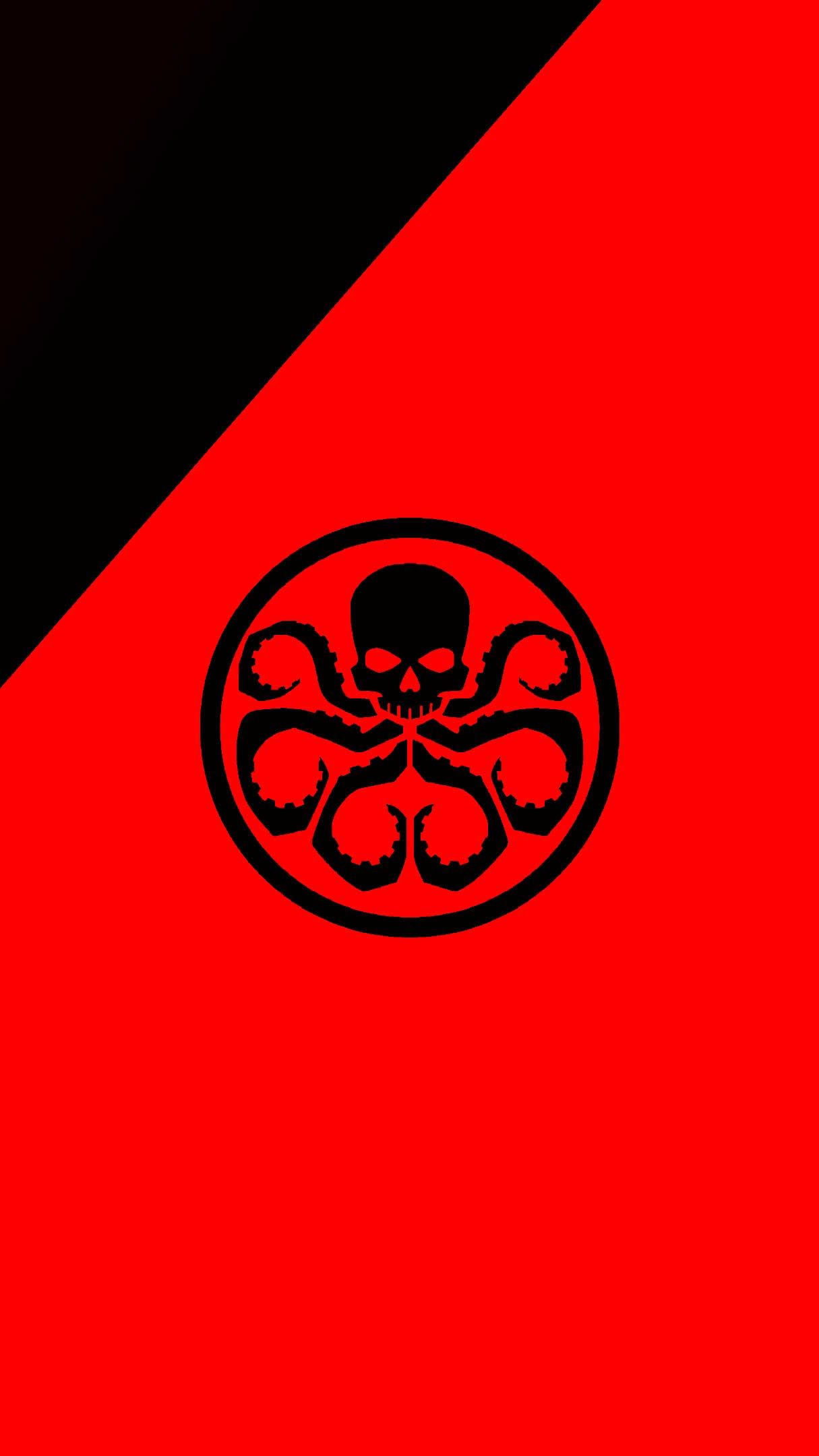 Hydra Logo Red K Iphone Wallpapers Hd In 2020 Iphone Wallpaper