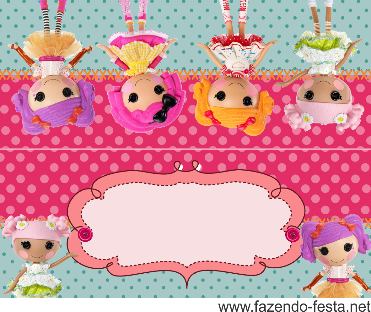 Lalaloopsy Free Printable Mini Kit. | Oh My Fiesta! in english ...