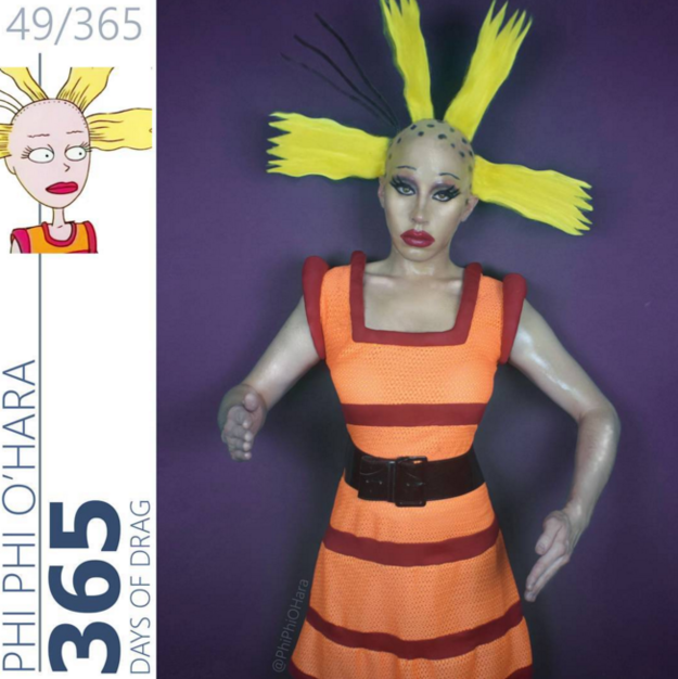 and went back in time to those classic Nickelodeon days as Cynthia ...