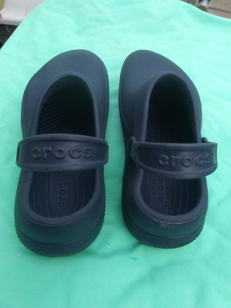 098327451821 Crocs Unisex Specialist II Clog Navy Rubber 10 M 12 W US Actual size ...