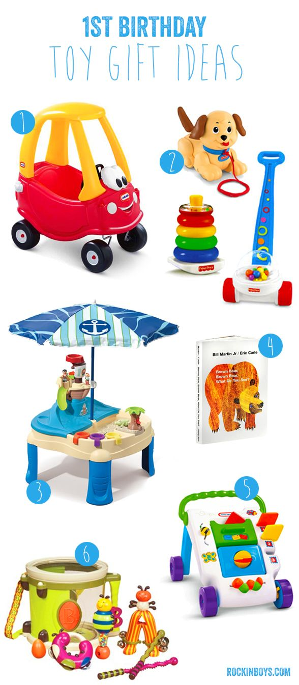 1St Birthday Gift Ideas For Boys