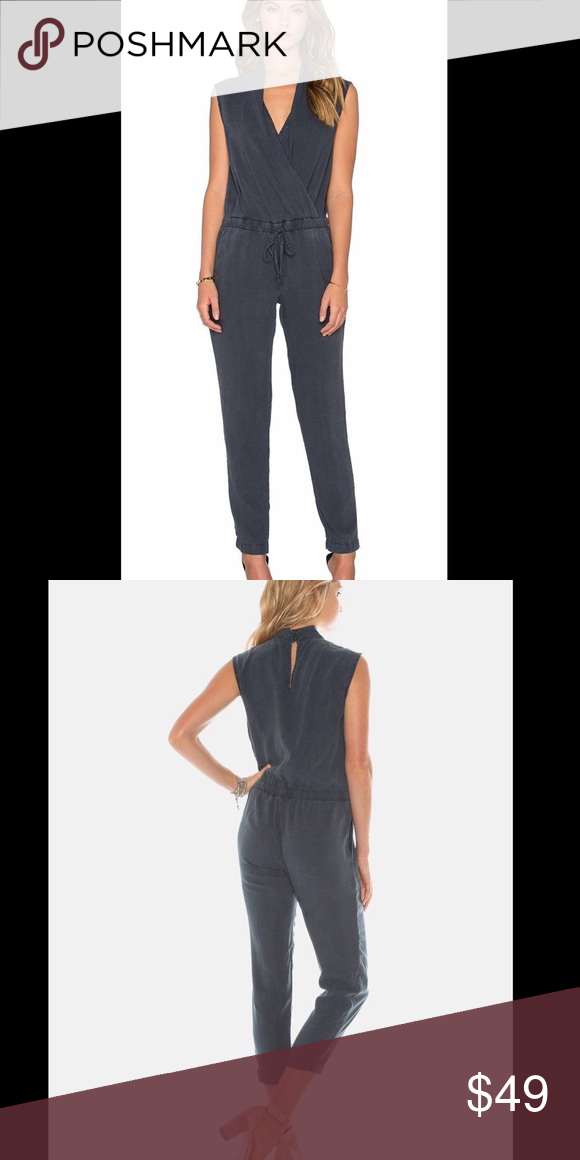 097cb4bbb9f Cloth and Stone Mignon Jumpsuit From Anthro Beautiful slate blue color  called Obsidian. Purchased at