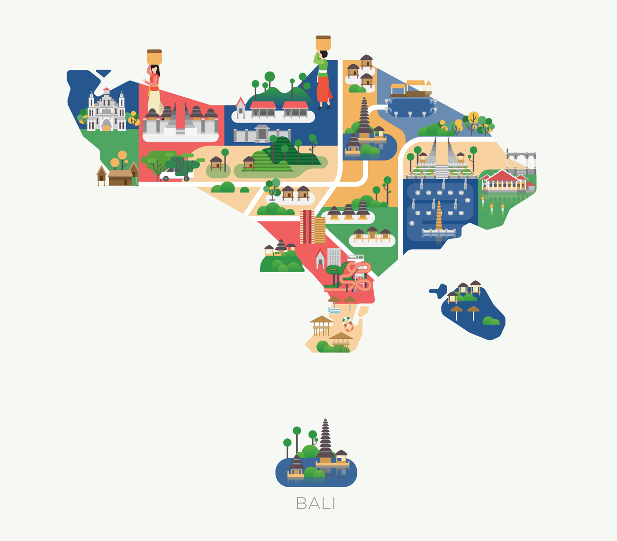 Maps Of Asia Jing Zhang Illustration Asia Map Map