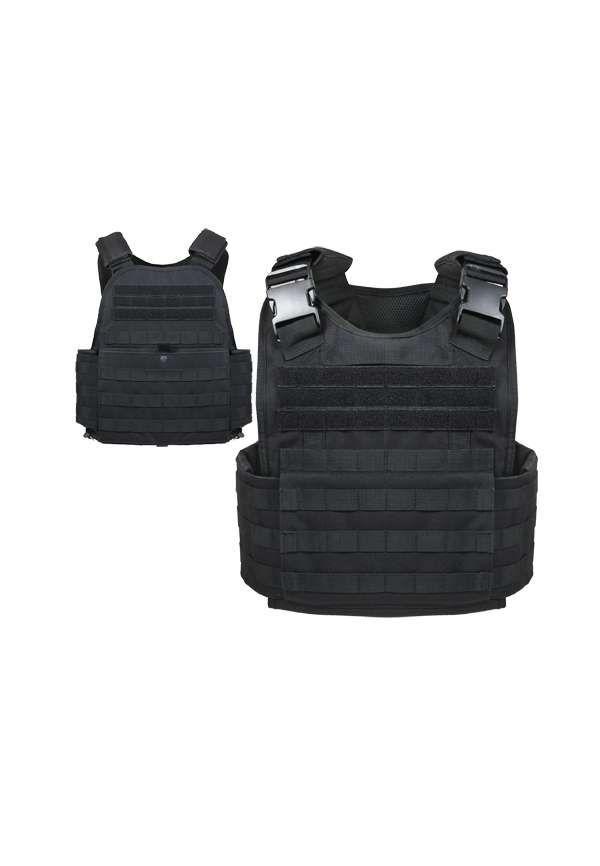 Black MOLLE Plate Carrier Vest 2f8141eaddc