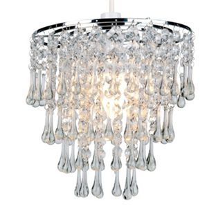 Jenny 4tier pendant chrome 22cm from homebase 3999 browse our range of lamp shades in different colours and designs here at homebase order at your local homebase store in your area today aloadofball Gallery