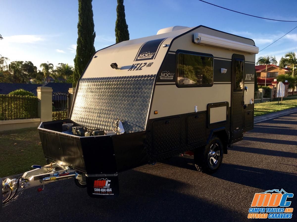 XT12-HR Off Road Caravan | MDC Camper Trailers & Off Road
