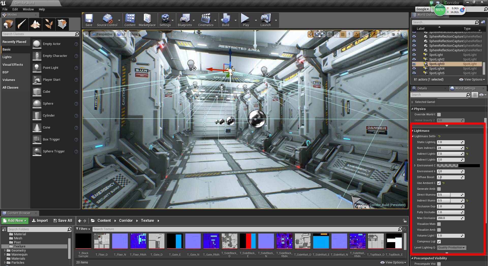 Building Materials And Meshes For Sci Fi Games Sci Fi Games Sci