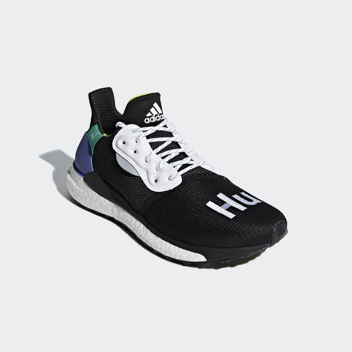 adidas Pharrell Williams x Solar Hu Glide Shoes in 2019