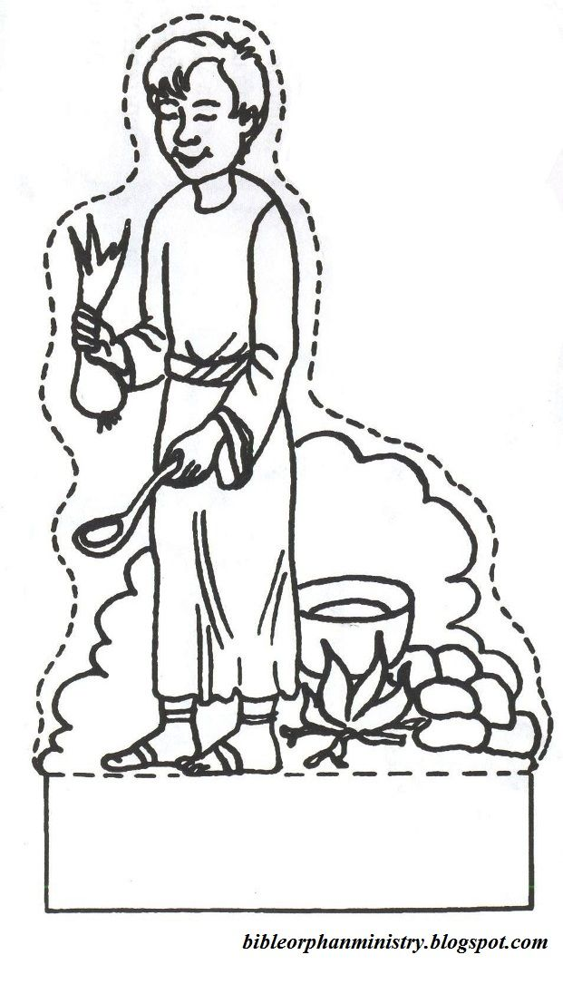 Bible orphan ministry a template for jacob and esau for Jacob and esau reunite coloring page