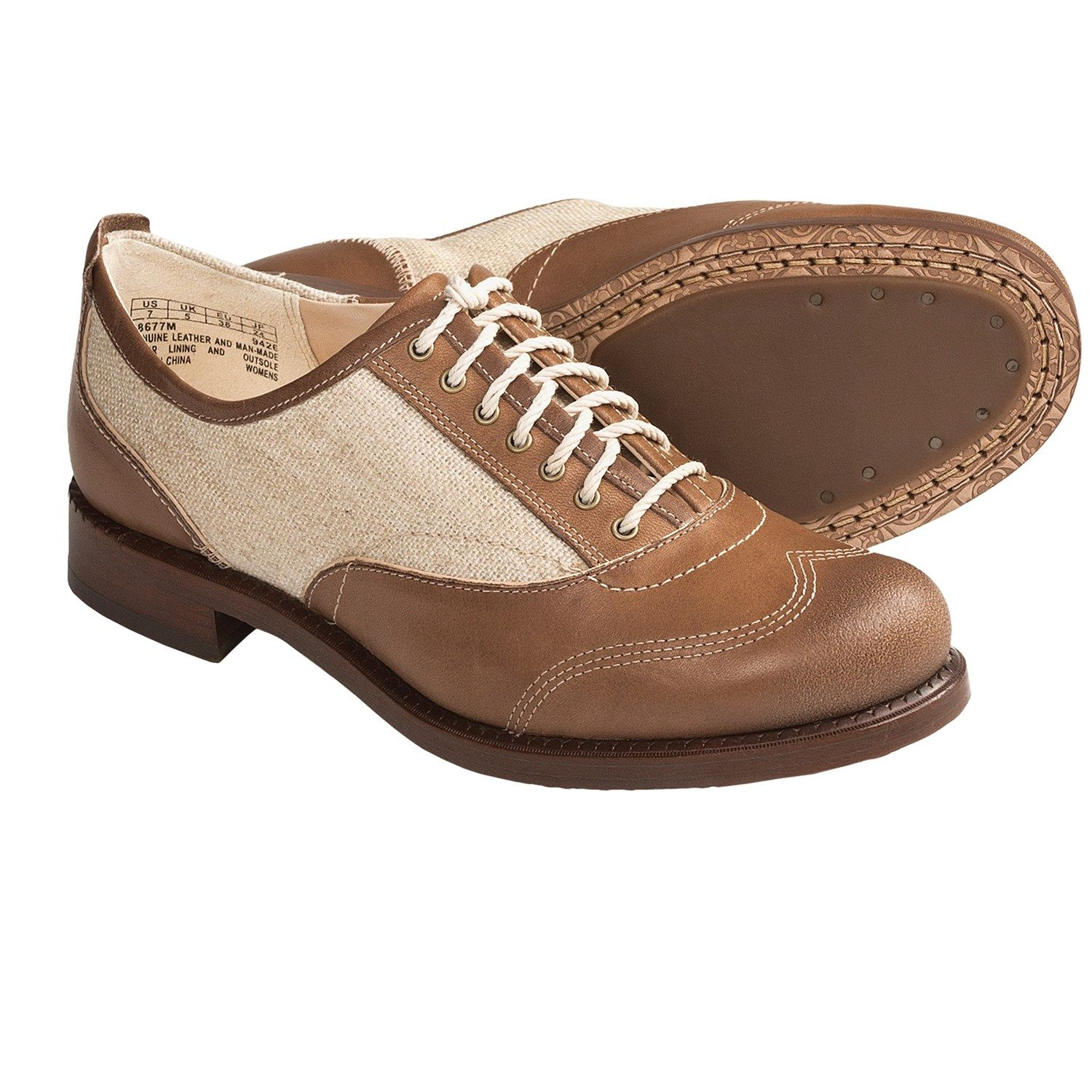 oxford boots for women | Timberland Lucille Oxford Shoes - Leather (For Women) in Tan
