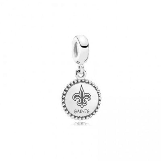 New Orleans Saints Pandora Charm | Pandora charms, Pandora ...