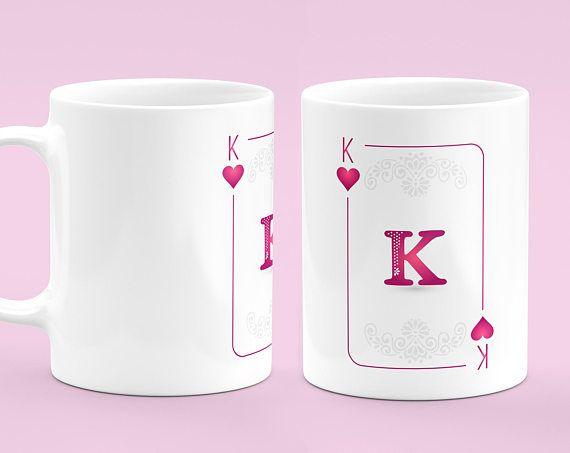 King Cards Mug - Poker Mug - Father\'s Day Gift - Poker Coffee Mug ...