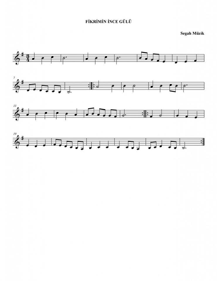 Fikrimin Ince Gulu Keman Notalari Keman Muzik Teorisi Cello