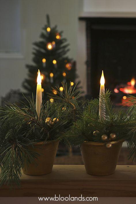 fabriquez votre bougeoir avec quelques branches de sapin un petit pot en terre et ins rez une. Black Bedroom Furniture Sets. Home Design Ideas