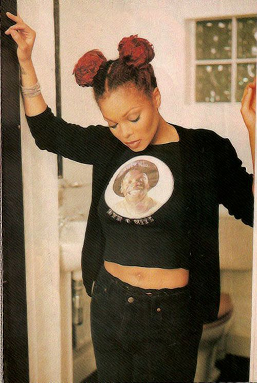 Janet Jackson in the late 90's```` sooo pretty