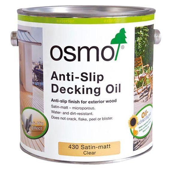 Osmo Anti Slip Decking Oil (430) Decking oil, Deck