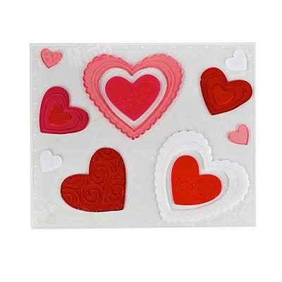 Valentine S Day Large Window Gel Cling Valentines Big Lots Valentines Day