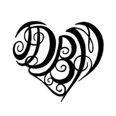 initial tattoos for women heart flash womens girls tattoos tattoo designs pictures. Black Bedroom Furniture Sets. Home Design Ideas