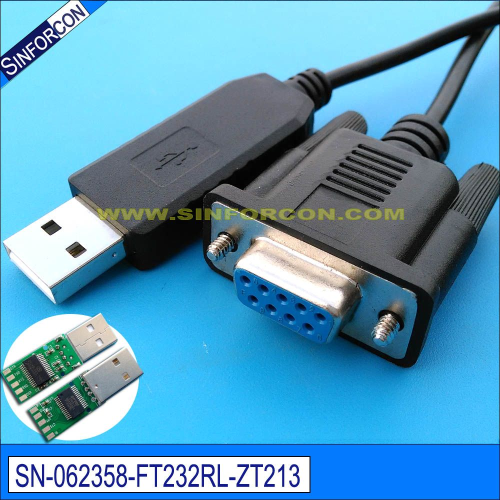 Click to Buy << cross wired usb serial db9 ftdi ft232r usb rs232 ...